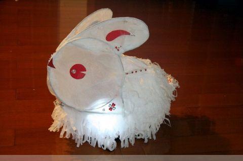 可爱俏皮的兔子灯来和小朋友一起过元霄啦![免费]